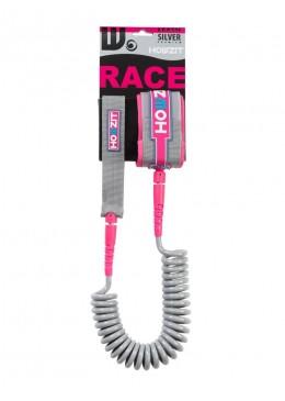 leash téléphone 9' gris et rose pour paddle