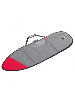 Boardbag Funboard 7'6 Grey / Red