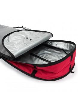 Housse gris et rouge pour surf longboard 8'6