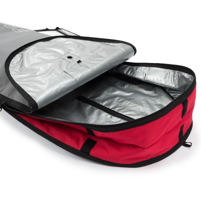 Boardbag Mini Malibu 8'6 Grey / Red