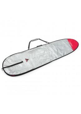 Housse gris et rouge pour surf longboard 9'