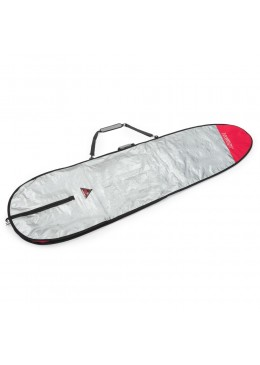 "Boardbag Longboard 9'2"" Grey / Red"