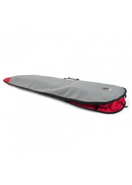 "Boardbag Longboard 9'6"" Grey / Red"