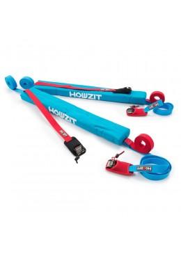 """Softrack surf & Paddle - 29"""" / 74 cm ( Paire ) Aqua"""