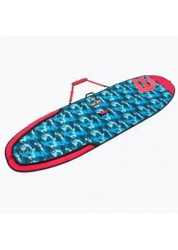 Housse de transport motif camouflage bleu pour stand-up paddle 9'