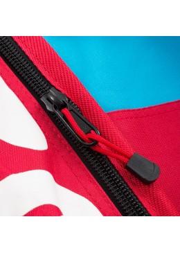 Housse de transport motif bleu et rouge pour stand-up paddle race 12'6 XL