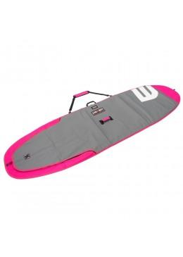 Housse de transport motif gris et rose pour stand-up paddle 9'6