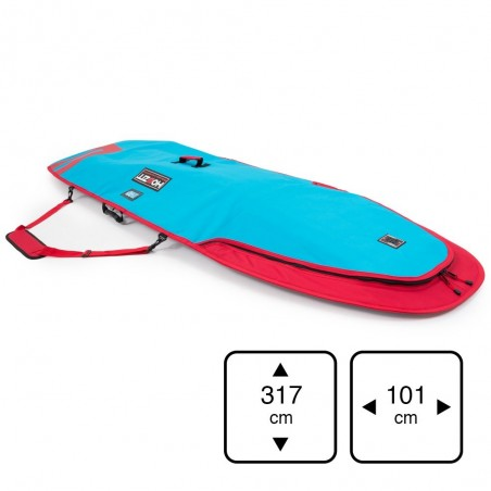 boardbag 10' XL  Blue / Red