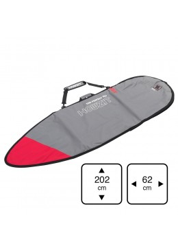 Housse ShortBoard 6'4 Grey / Red