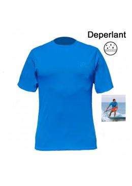 T-shirt surf - Déperlant pour homme bleu