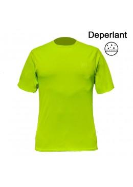 T-shirt surf - Déperlant pour homme lime