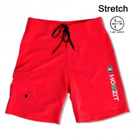 Boardshort Homme Red
