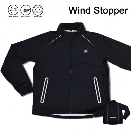 Windjacket Homme Black