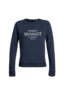 "SweatShirt Navy ""Howzit Co"" Women"
