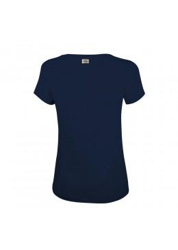 """Tee Shirt V - Navy """"Howzit Co"""" Femme"""