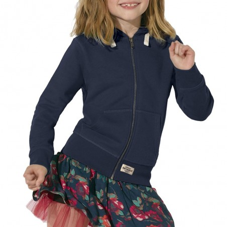 "Sweat Shirt Navy ""Howzit Co"" Fille"