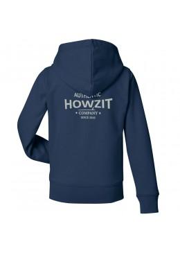 "Sweat Shirt Navy ""Howzit Co"" Kids"