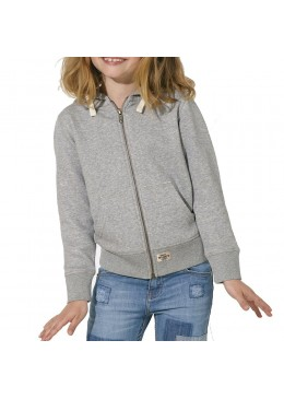 "Sweat Shirt Grey ""Howzit Co"" Fille"