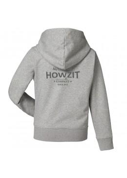 "Sweat Shirt Grey ""Howzit Co"" Fille"