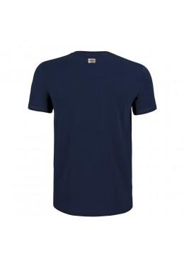 "Tee Shirt Navy ""Howzit Co"" Fille"