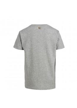 "Tee Shirt Grey ""Howzit Co"" Fille"