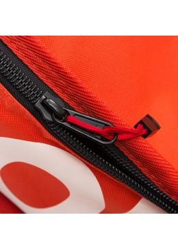 Housse de transport motif navy et orange pour stand-up paddle race 12'6