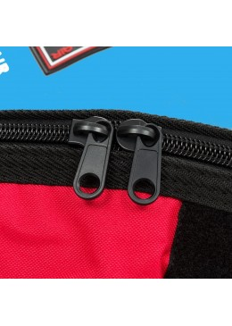 "zipper from the Boardbag for longboard surf Mini Malibu surf 9'0"" blue"