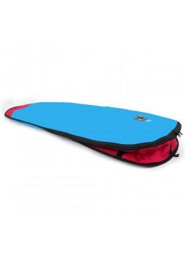 """Boardbag Longboard 9'2"""" blue / Red"""