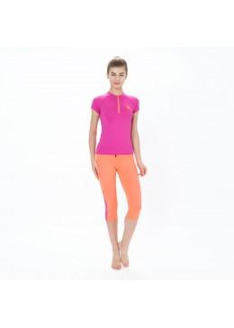 Women Capri DHARMA - Lycra Néon / Pink