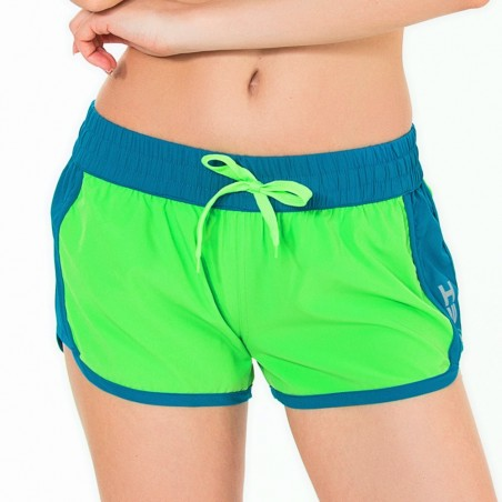 Short HOT CRUSH women Lime / Saphir