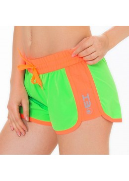 Short HOT CRUSH Women Lime / Néon