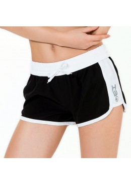 Short HOT CRUSH Woman Black / White
