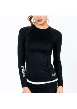 Lycra BETTY Long sleeves - Black