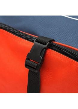 Sac de transport navy et orange à roulettes pour paddle gonflable ou kite surf