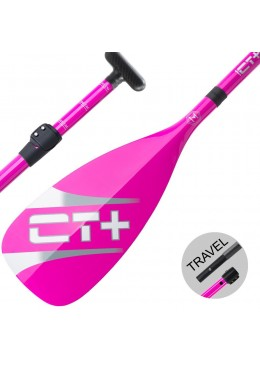 SUP Paddle CT+ COLOR II Travel Vario 3 parts Pink new model 2018