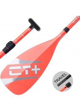 SUP Paddle CT+ COLOR II Travel Vario 3 parts -  Orange