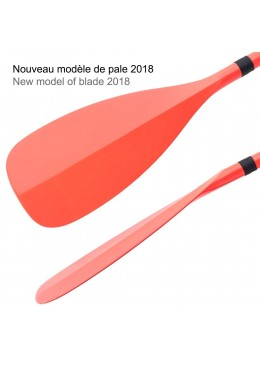 SUP Paddle CT+ COLOR II Travel Vario 3 parts -  Orange