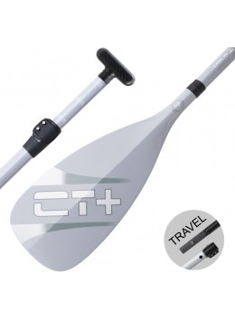 SUP Paddle CT+ COLOR II Travel Vario 3 parts - Grey
