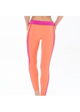 Women Legging DHARMA TIGHT - Lycra Néon / Pink
