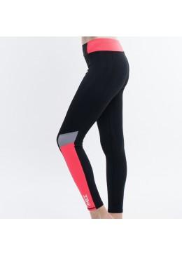 Legging SUZZY TIGHT - Lycra Orange pour la pratique du fitness, yoga, surf et paddle