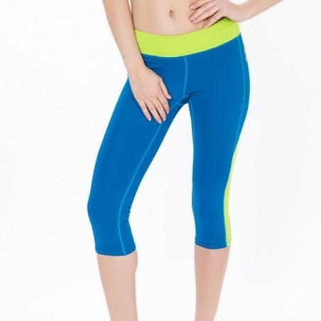 legging court en lycra pour la pratique du fitness, yoga, surf et paddle