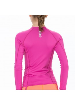 Lycra manches longues surf BETTY TOP -  Pink