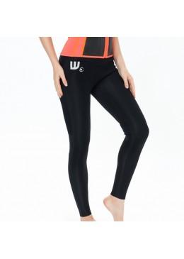Pantalon Néoprène Femme Black pour la pratique des sports nautiques