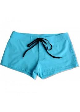 Short de bain Femme bleu