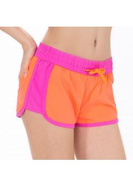 Short HOT CRUSH Femme Néon / Pink  pour la pratique du fitness