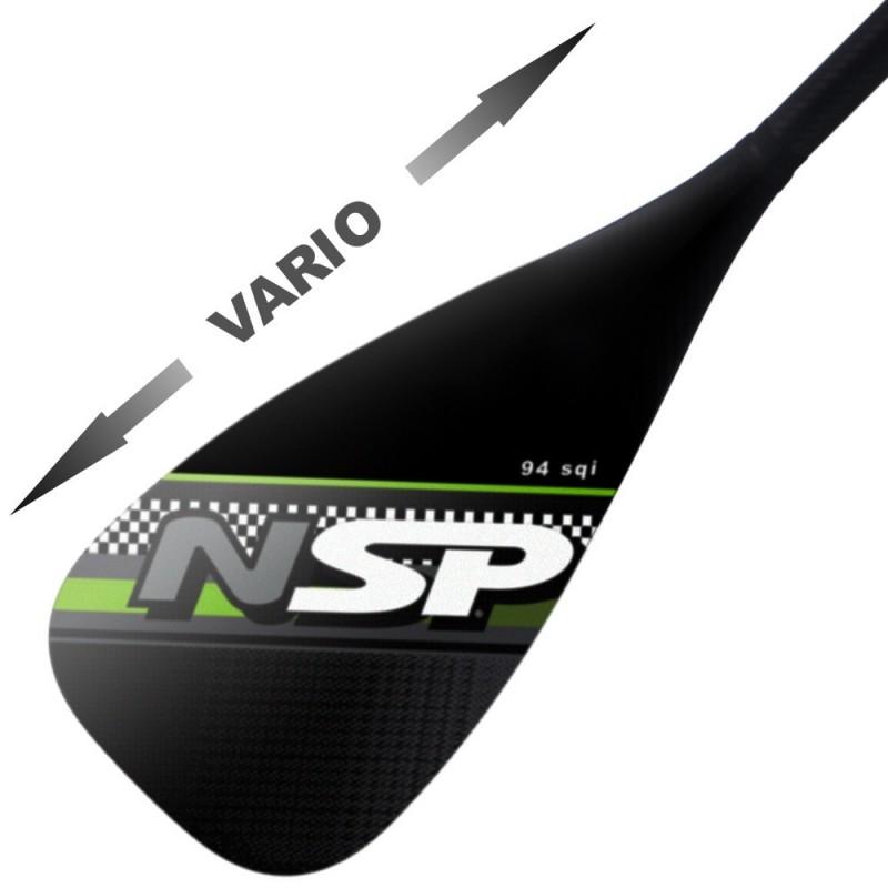 Pagaie NSP Carbon Vario 94 in²