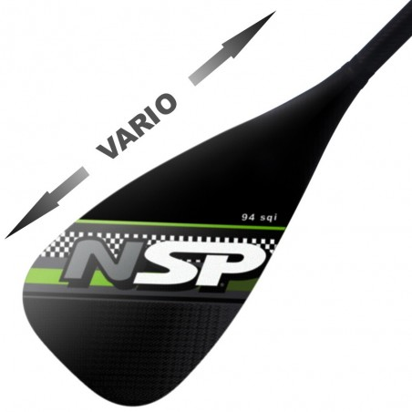 Pagaie NSP Carbon Vario 94 in²