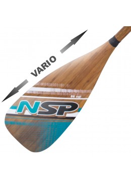 Pagaie NSP Carbon Bamboo Vario 86 in²
