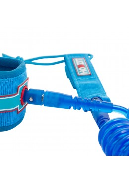leash téléphone 9' clear blue pour paddle