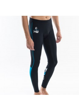 Men Neoprene Pant Black / Aqua